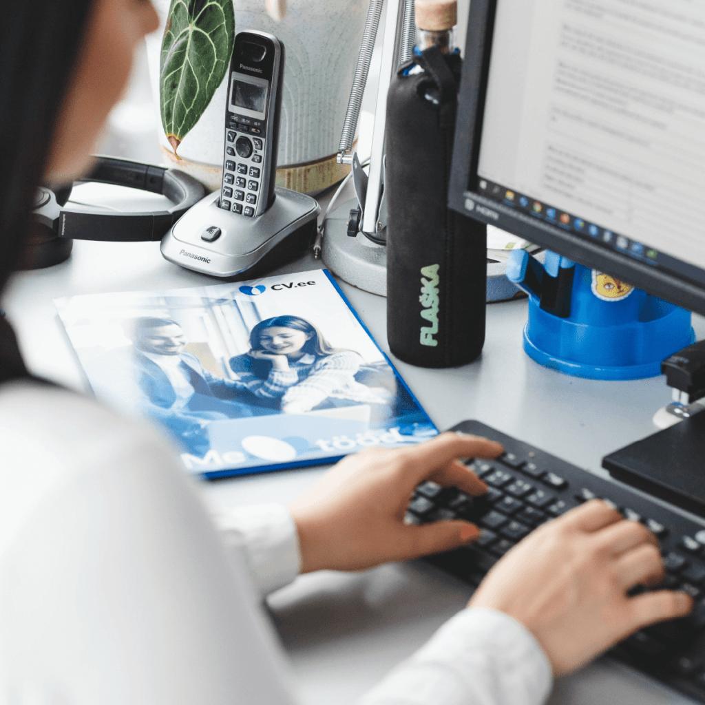 CV-Online värbamisteenused, personaliotsing