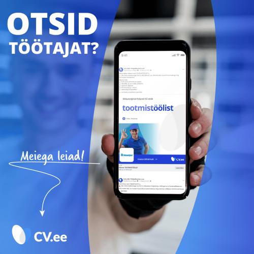 CV-Online värbamisteenused - värbamisturundus